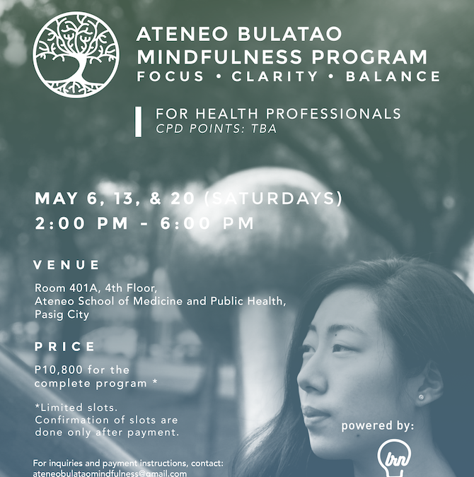 Ateneo Bulatao Mindfulness Program-for Health Professionals